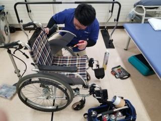 メンテ②(車椅子)
